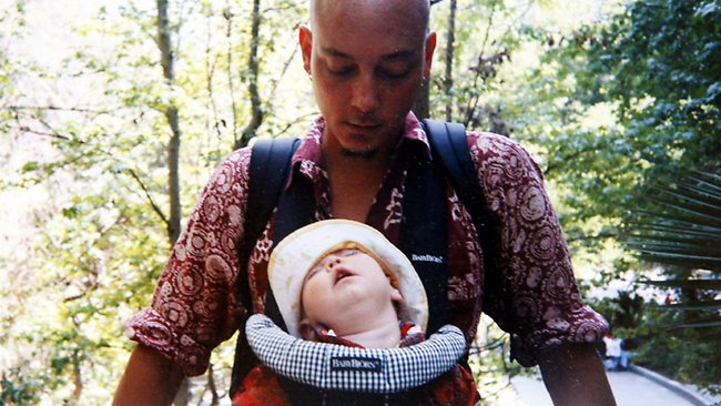 Brozzi Lunetta with daughter Reya before she was abducted. Picture: supplied.