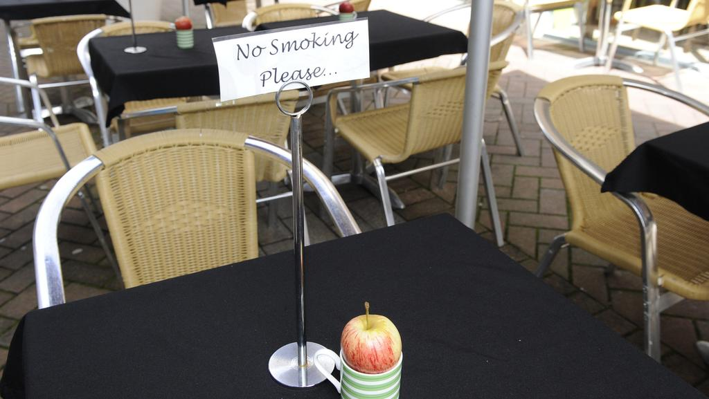ban on smoking in seated outdoor dining areas in nsw news local
