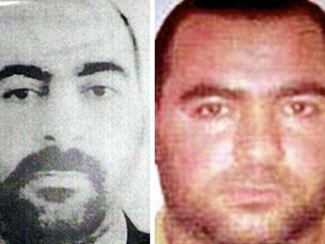 Self-proclaimed leader ... Caliph Abu Bakr al-Baghdadi remains deep in hiding and has hardly ever been photographed.