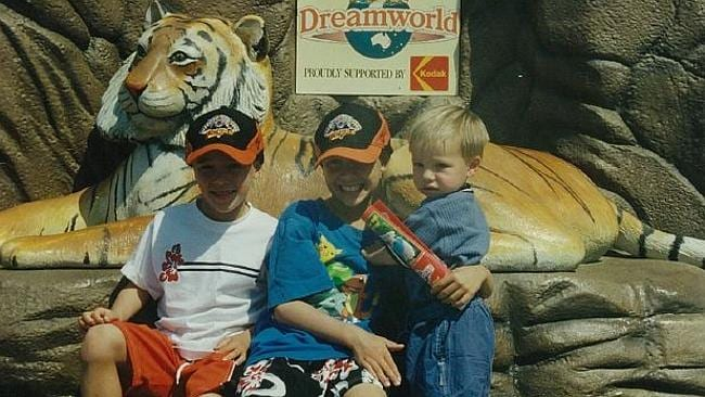 Tigers young gun Luke Brooks was a passionate Tigers supporter as a Kid.