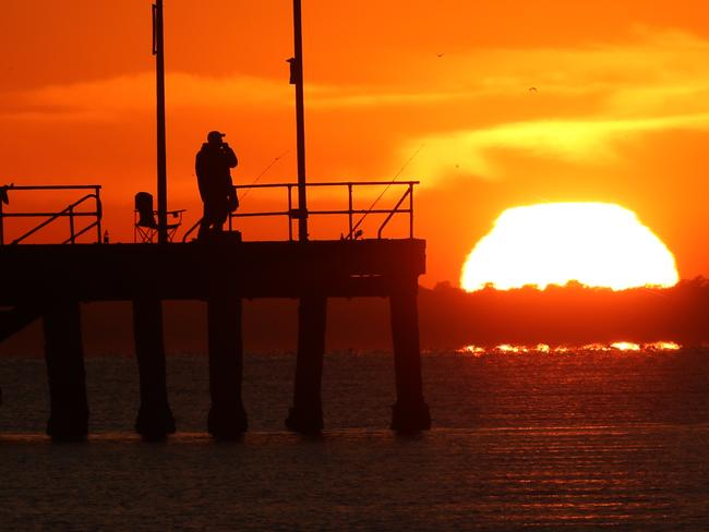 Melbourne reached a top of 37.6C on Wednesday. Picture: David Crosling