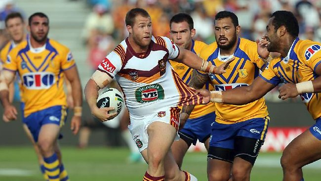 Country prop Trent Merrin in action against City in Coffs Harbour on Sunday. Picture: Tim Hunter