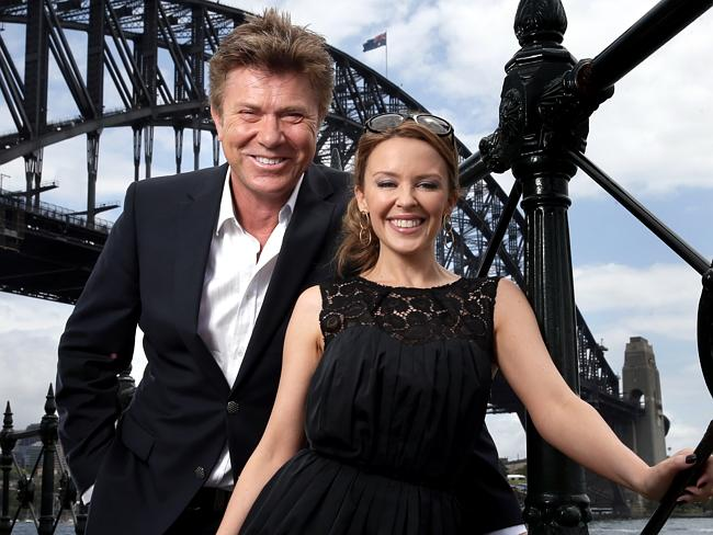 Single and ready to mingle? Kylie Minogue and Richard Wilkins have been friends for 27 years.