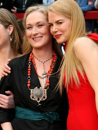 Meryl Streep and Nicole Kidman have been friends for years. Picture: Getty