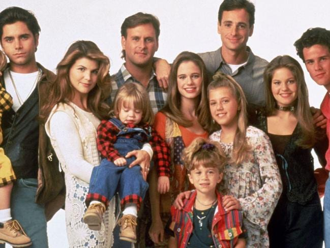 Reunion ... The cast of Full House,