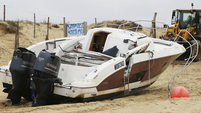 Mr Agnes' boat washed up on the west French coast.