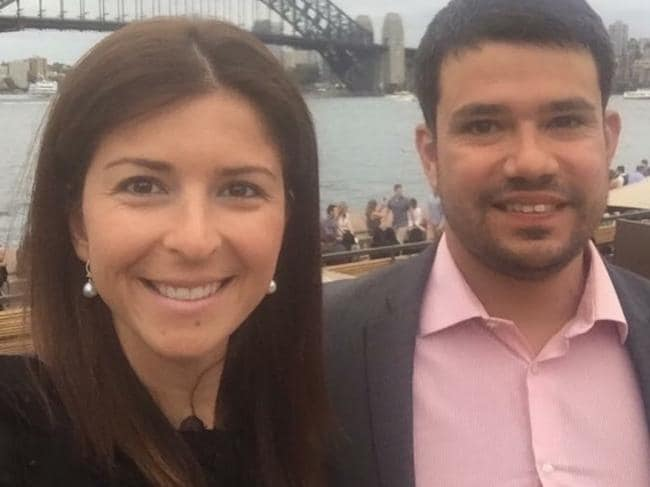 Ms Haddad's body was identified by her ex-husband Filipe Torres, who flew to Sydney from Perth.