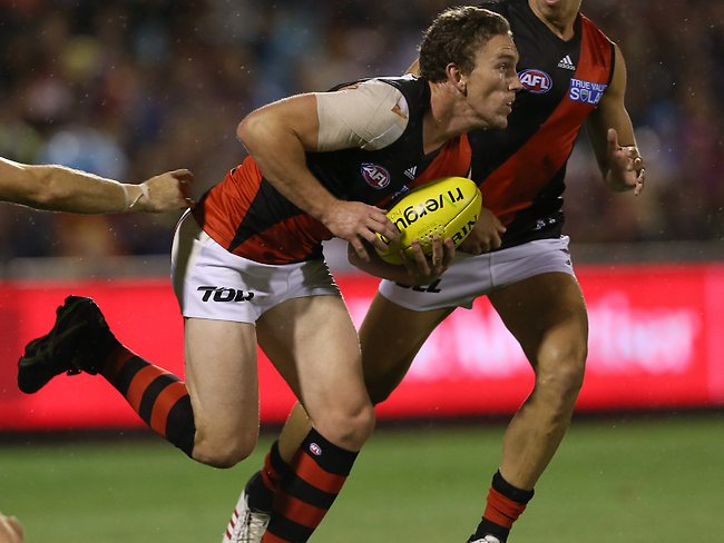 AFL - Adelaide Crows v Essendon at AAMI Stadium - Round 1 - Heath Hocking Picture: Sarah Reed