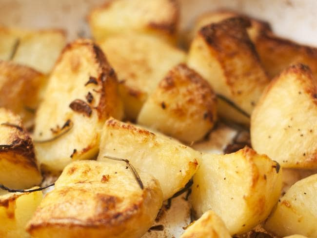 Acrylamide A UK government body has warned of the dangers of roasting potatoes.