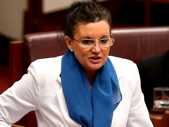 Embarrassed: Palmer United Party Senator Jacqui Lambie says she sorry for sexist comments.