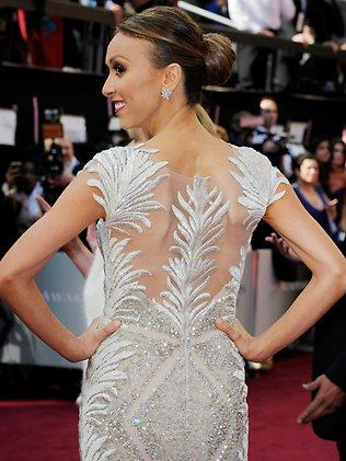 TV personality Giuliana Rancic arrives at the 84th Annual Academy Awards on February 26, 2012. Picture: Kevork Djansezian/Getty Images/AFP