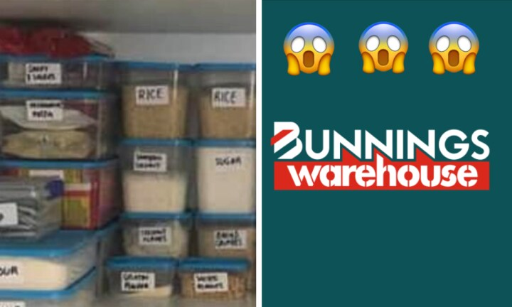 Mums are going crazy for Bunnings' cheap food container set