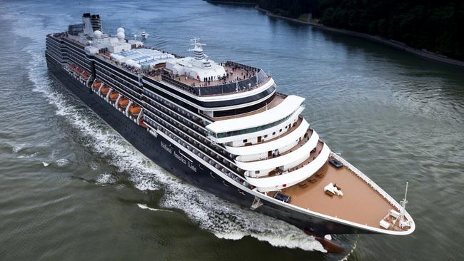 Cruise Ship Air Pollution Could Be Dangerously High Study Warns - Cruise ship turns over