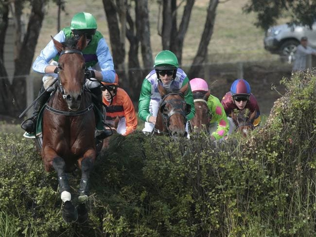 Race six at the 2017 Oakbank racing festival. Picture: Tait Schmaal