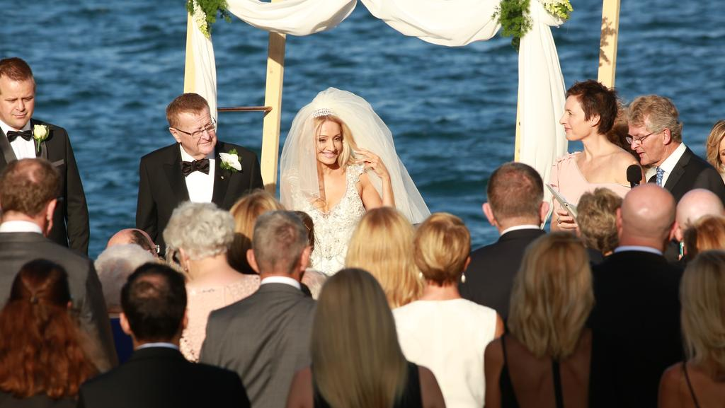 John Coates and Orieta Pires were married in Woolwich in a park on the water near the Deckhouse. Picture: Damian Shaw