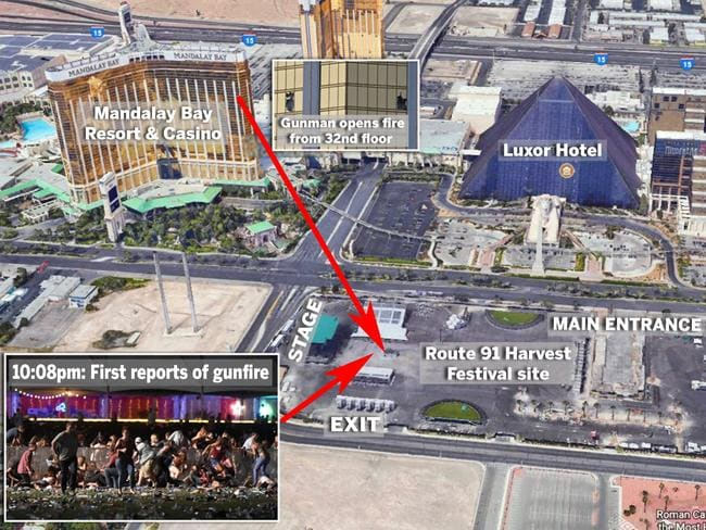 Las Vegas shooting How Mandalay Bay attack unfolded