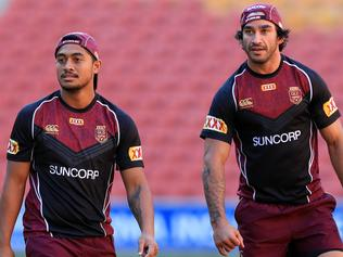 Maroons Training Session