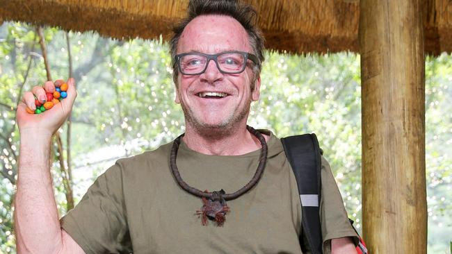 Tom Arnold after his elimination from I'm A Celebrity ... Get Me Out Of Here! Picture: Nigel Wright/Ten