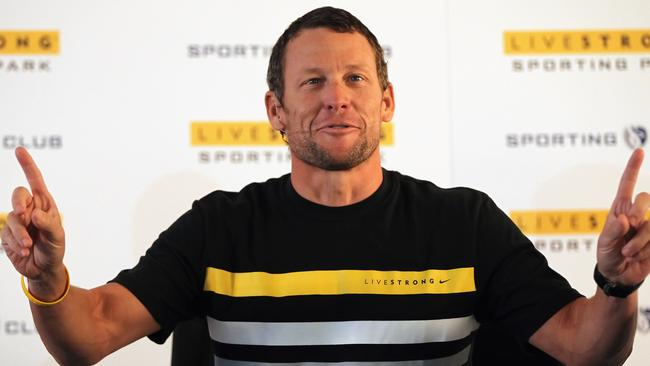 Lance Armstrong was stripped of his record seven consecutive Tour de France titles after doping allegations were found to be true. Photo: Jamie Squire.