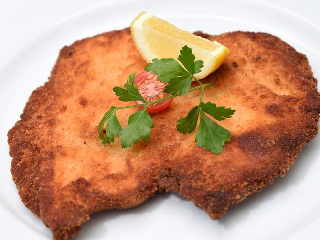 Any excuse to put a schnitzel in a story is a good excuse.