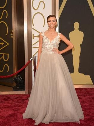 Giuliana Rancic Attends The 2014 Oscars In A Paolo Sebastian Creation Picture Jason Merritt Getty Images