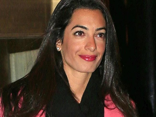 Amal Alamuddin, George Clooney's fiancee is certainly a high achiever.