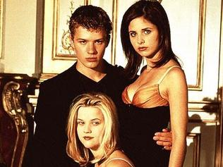 Supplied Editorial Ryan Phillippe, Reese Witherspoon, Sarah Michelle Gellar and Selma Blair in Cruel Intentions.