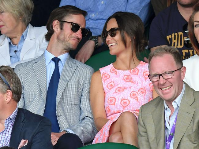 Pippa Middleton and James Matthews: the wedding of the year. Picture: Getty