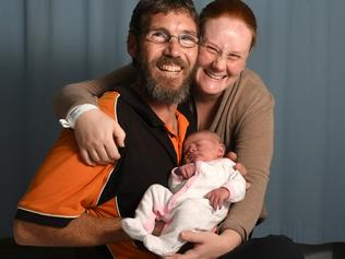 Baby Tamazin born in car at Morphett Vale