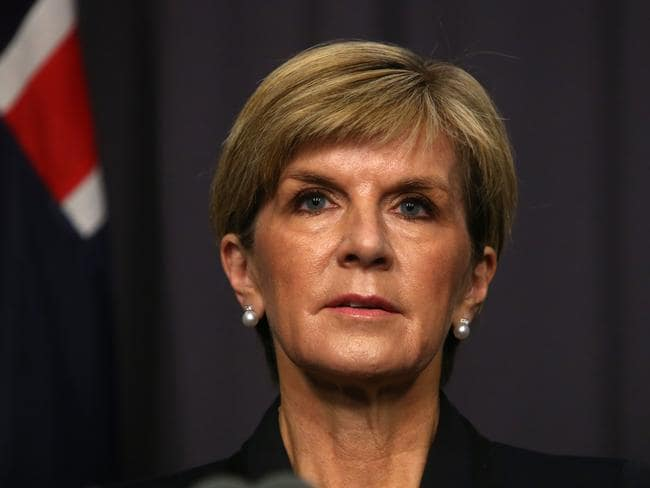 "Foreign Affairs Minister Julie Bishop has warned Islamic State may have a large ""dirty"" bomb."