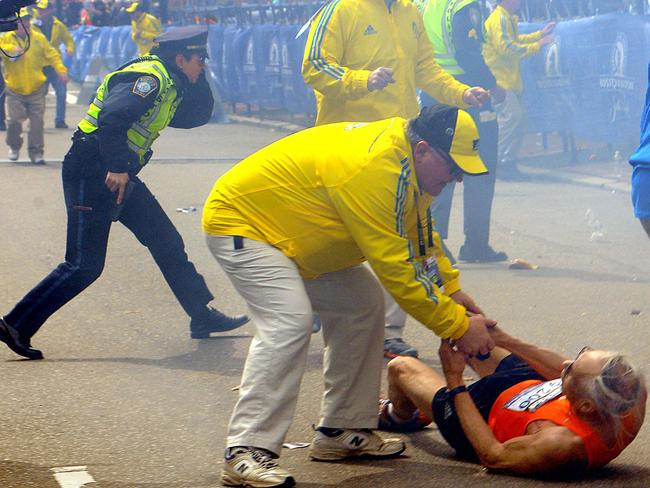 Mason was a block away from the finish line of the Boston marathon when the 2013 bombings shocked the world.