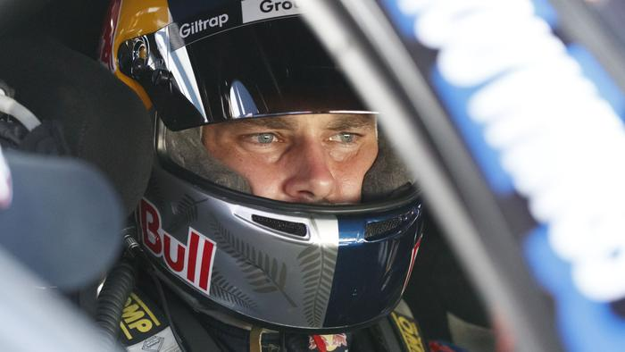 A supplied image obtained Friday, Dec. 2, 2016 of Shane van Gisbergen of Red Bull Racing Australia during the Coates Hire Sydney 500, at the Homebush Street Circuit, Sydney, New South Wales. (AAP Image/Edge Photographics) NO ARCHIVING, EDITORIAL USE ONLY