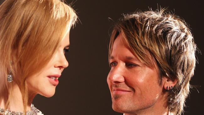 Nicole Kidman and Keith Urban attend the Celebrate Life Ball at Grand Hyatt Melbourne