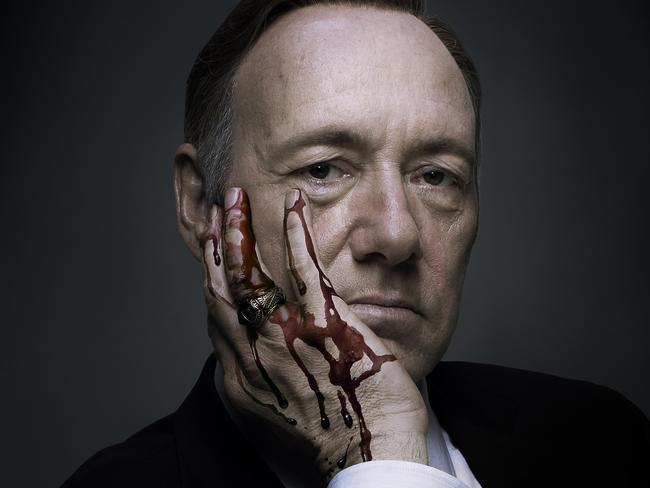 House of Cards. Perfect binge-watching fodder.