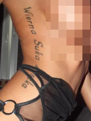 Pimps have branded women with their names, their initials and barcodes.