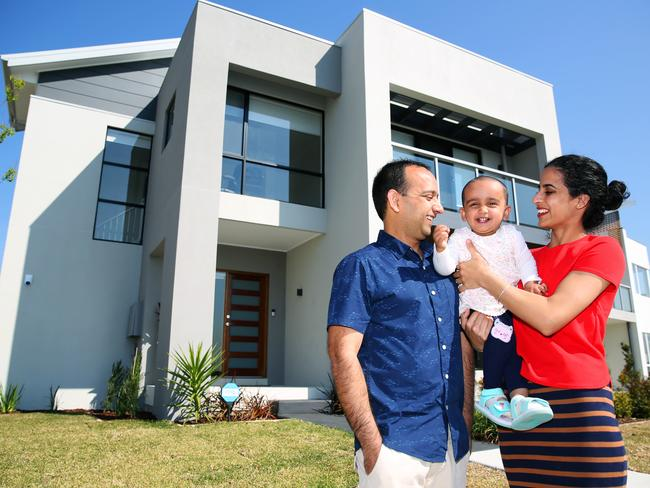 The housing boom has increased the wealth of many people. Picture: Angelo Velardo/AAP