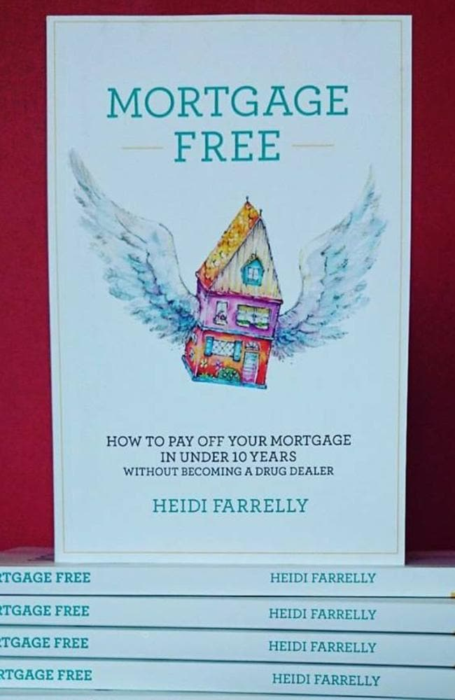 Heidi Farrelly wants to be able to help others who are struggling with their mortgage debts. Picture: Heidi Farrelly/Facebook