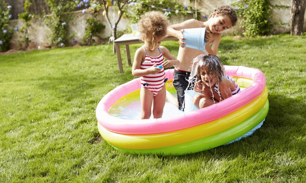 Does your small blow-up pool need a fence?