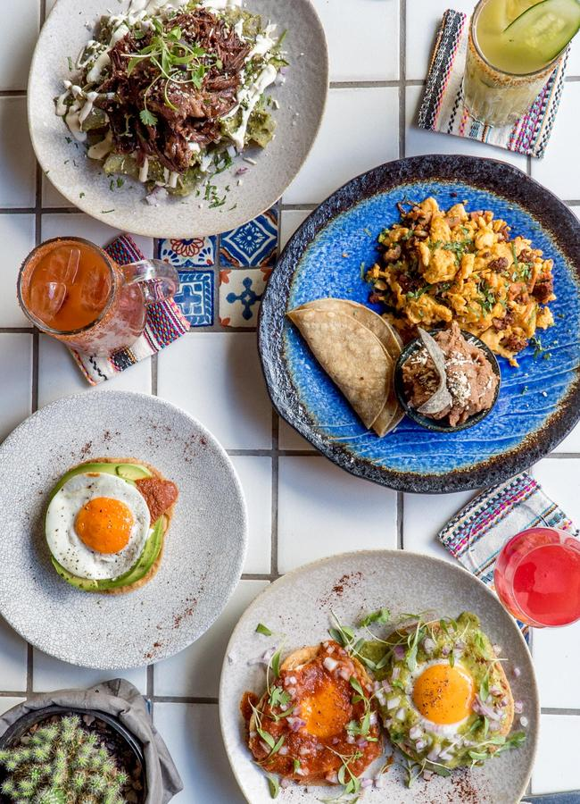 Some of the brunch dishes at Chula. Picture: supplied