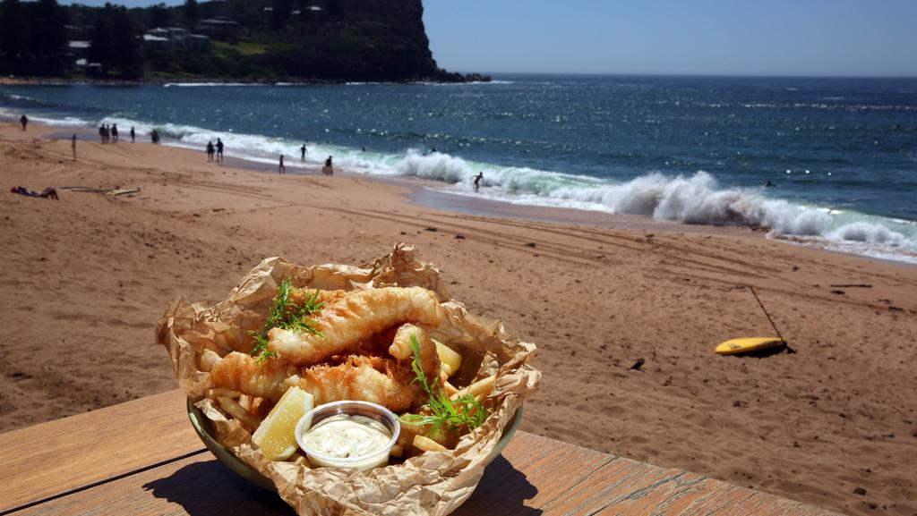 Fish and chip galore on the northern beaches news local for Fish market virginia beach