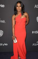 Angela Bassett arrives at the InStyle and Warner Bros. Golden Globes afterparty at the Beverly Hilton Hotel on Sunday, Jan. 10, 2016, in Beverly Hills, Calif. (Photo by Matt Sayles/Invision/AP)