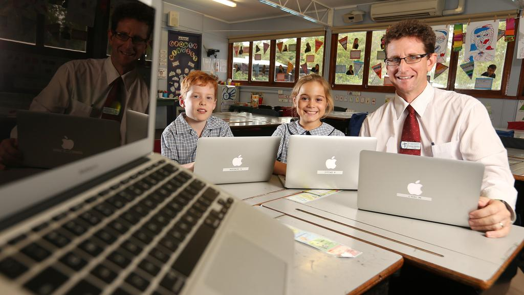 Some students will sit their NAPLAN tests online this year. Picture: JOSH WONING