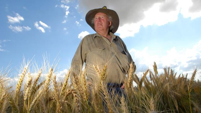 George Clift is a fifth generation farmer from Caroona near Gunnedah in central northwest NSW. Picture: Daily Telegraph.