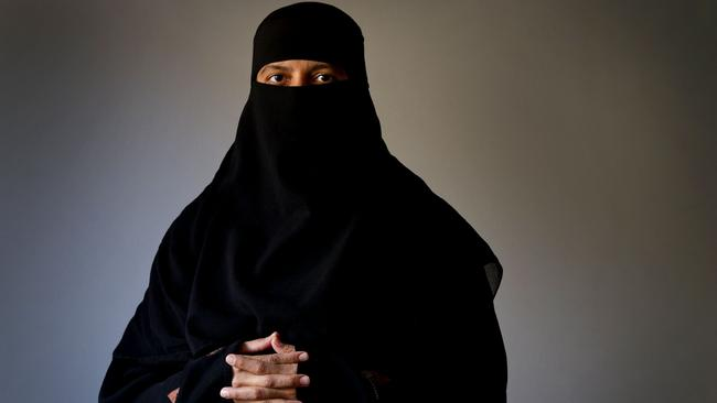 The proposal...if Lambie's bill is passed it would see the burqa banned in public places, but it could be worn in homes and places of worship. Picture: News Corp