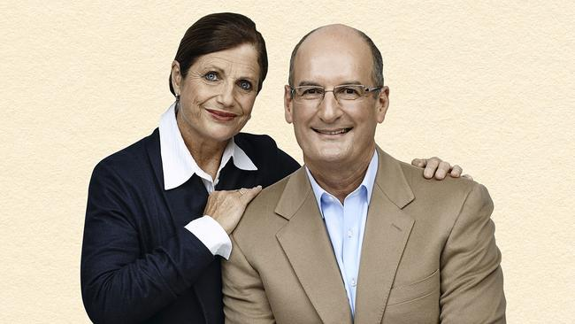 David and Libby Koch have some bold financial predictions for the year ahead. Picture: News Corp