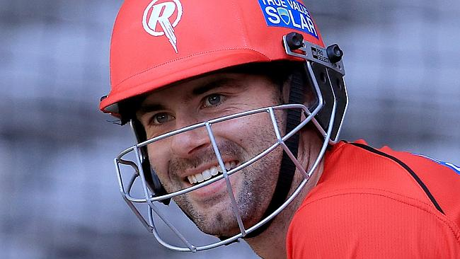Alex kitted out in his Melbourne Renegades uniform.