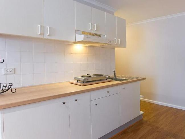 The kitchenette is also small. Photo: www.realestate.com.au