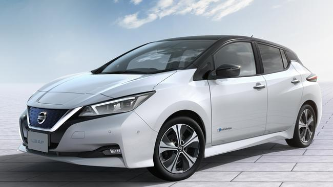 The Nissan Leaf is the world's most popular electric vehicle. Pic: Supplied.