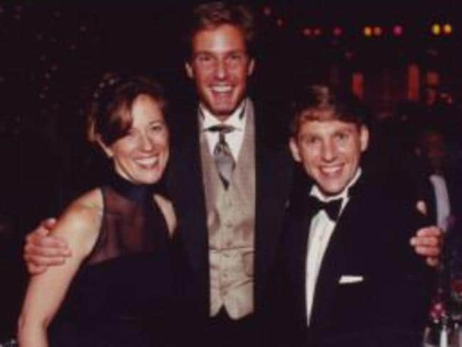 The Miscavige family in happier times