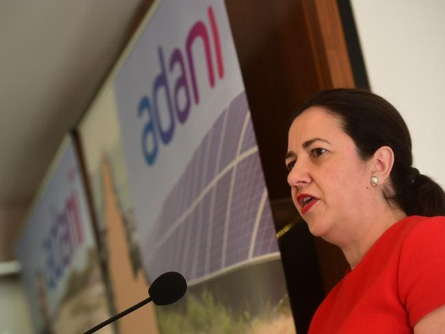 Queensland Premier Annastacia Palaszczuk has backed the project, largely for its job creation.